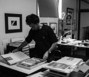 David Pisani at his studio